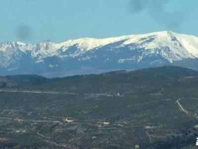 Cárcavas Alpedrete de la Sierra y Cerro Negro; senderismo hoces del duraton empresas de senderismo